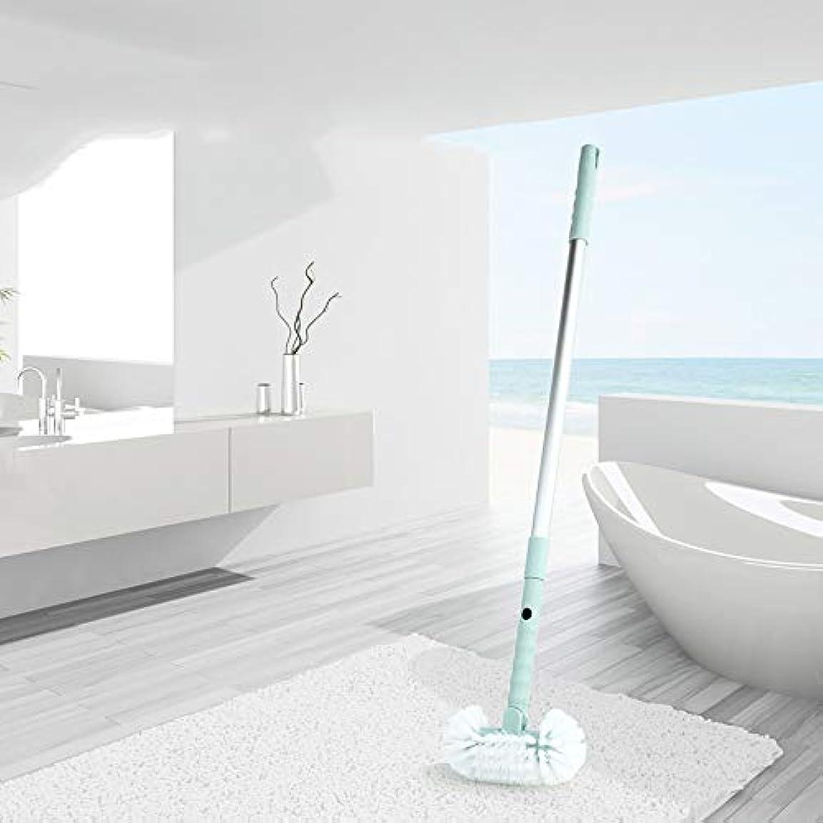 シュリンク嫌なフィルタポアクリーニング ホームバスルーム引き戻し可能なハードブラシトイレ浴室バスタブフロアクリーニングブラシ マッサージブラシ