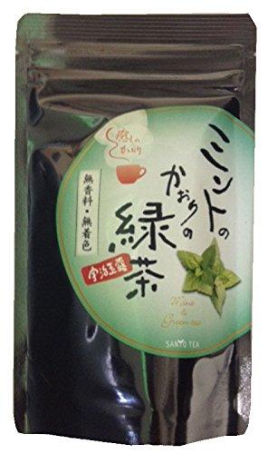 ミントの香りの緑茶 ティーパック 1.8X10