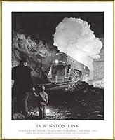 ポスター ウインストン リンク クリスチャンズバーグ付近のモンゴメリートンネル バージニア 1957 額装品 アルミ製ベーシックフレーム(ゴールド)