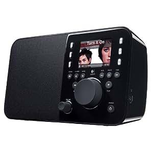 Logitech Squeezebox Radio (Wi-fi式インターネットラジオ)Music Player with Color Screen (Black)【Logitech】【並行輸入版】