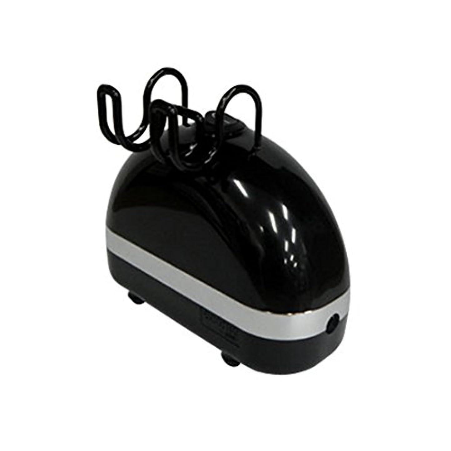 エアテックス コンプレッサーAPC-014-1 エコモ ブラック