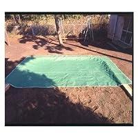 砂場用シート 砂場メッシュシート スタンダード 定番サイズ 3.6 × 5.4 m (サンドバッグ10枚付き)