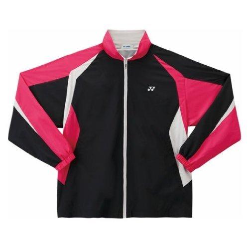 Yonex(ヨネックス) ジュニア裏地付ウォームアップシャツ ブラック 7 J140 52000J