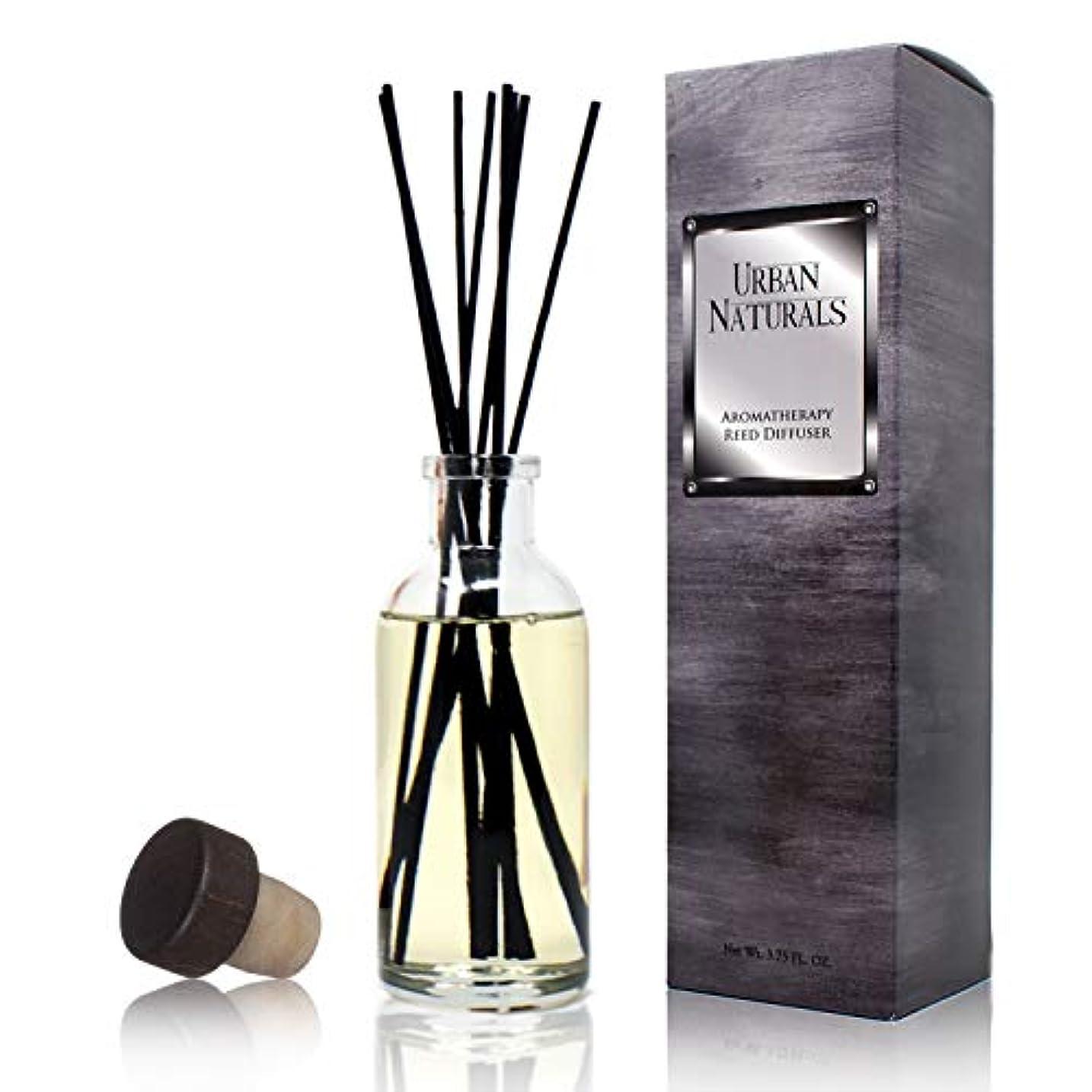 もっと少なくクランプ内訳Urban Naturals旅行コレクションの香りホームAmbiance Reed Diffuser Giftセット UN-Diffuser-Arabia