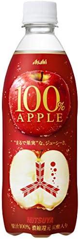 アサヒ飲料 「三ツ矢」100% アップル 500ml ×24本