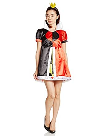 ディズニー ふしぎの国のアリス クイーンオブハート コスチューム レディース 155cm-165cm