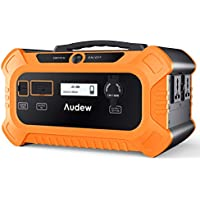 AUDEW ポータブル電源 156250mAh/500Wh 家庭用蓄電池 正弦波 急速充電 停電/防災などに活躍 12ヶ月保証付き