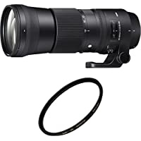 SIGMA 望遠ズームレンズ Contemporary 150-600mm F5-6.3 DG OS HSM キヤノン用 745547 + Kenko レンズフィルター ZX プロテクター 95mm レンズ保護用セット