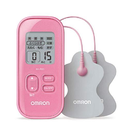 オムロン 低周波治療器(ピンク)OMRON HV-F021-PK