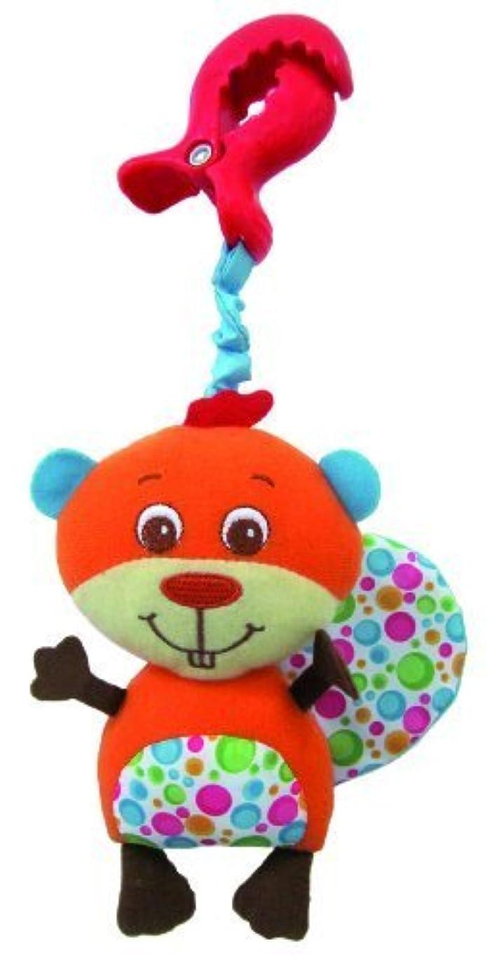 指うなり声アクロバットTiny Love Clip-On Stroller Toy, Billy Beaver by Tiny Love [並行輸入品]