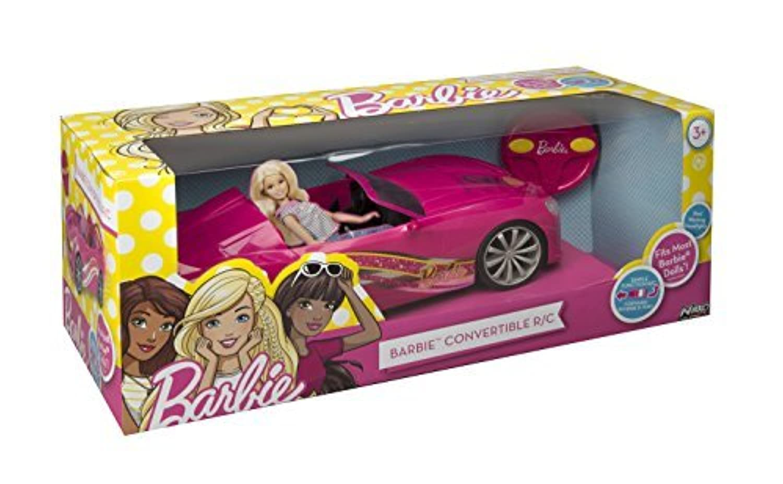 Toy State Nikko RC Barbie Convertible Vehicle [並行輸入品]
