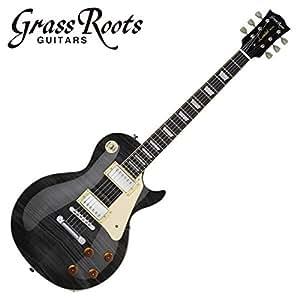 GrassRoots グラスルーツ エレキギター G-LP-50S See Thru Black