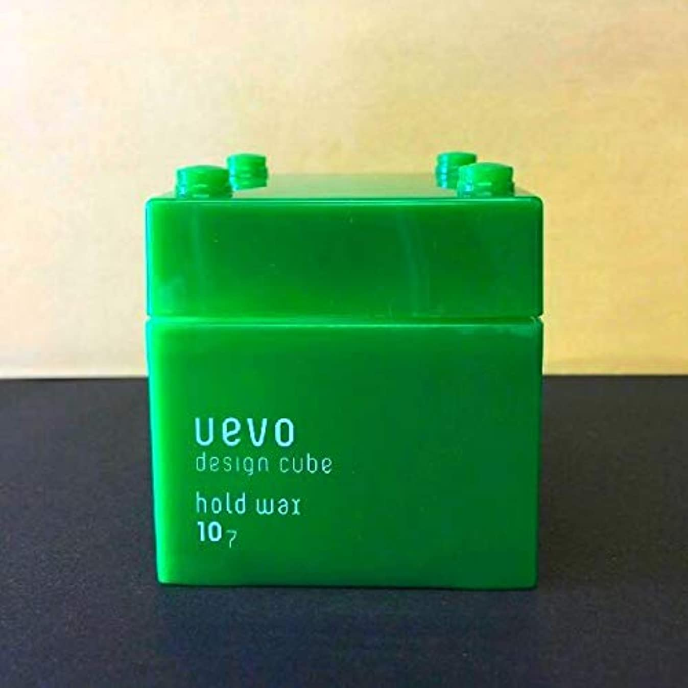 夕暮れ水曜日角度【X3個セット】 デミ ウェーボ デザインキューブ ホールドワックス 80g hold wax DEMI uevo design cube