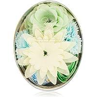 デイズインブルーム バスセットオーバル ガーデニア (入浴料 お花の形のバスギフト)