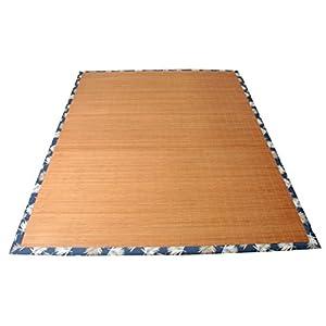 イケヒコ ラグ カーペット 3畳 長方形 竹 竹ラグ 竹カーペット バンブー シンプル 『DXHパサール』 約180×240cm コンパクトタイプ (裏:不織布)♯5350580