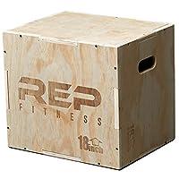 Rep 3in 1木製Plyometricジャンプのトレーニングとコンディショニングのボックス30/ 24/ 20, 24/ 20/ 16、20/ 18/ 16、16/ 14/ 12