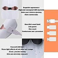 光子肌の若返り機器ツェッペリン分光ビューティー電子美容機器カラーライト美容機器のマスクマシンをマスク,Clear