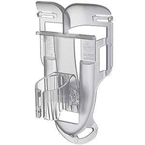 空調クリップ 扇風機を襟にかけて服の中へ送風できる「襟クリップ」 充電池式携帯扇風機本体は別売 (やわらかめ)