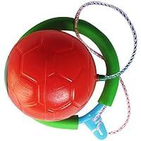 SONONIA スキップボール アウトドア ボールおもちゃ スキッピング フィットネス機器 全2色 - 赤