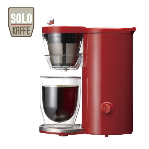 レコルト コーヒーメーカー ソロカフェ レッド SLK-1R