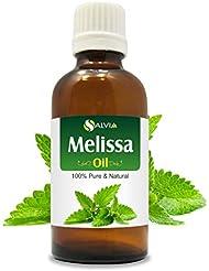 Melissa (Melissa Officinalis) 100% Natural Pure Essential Oil 10ml