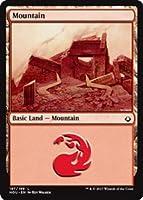 英語版 破滅の刻 Hour of Devastation HOU 山 Mountain (#197) マジック・ザ・ギャザリング mtg