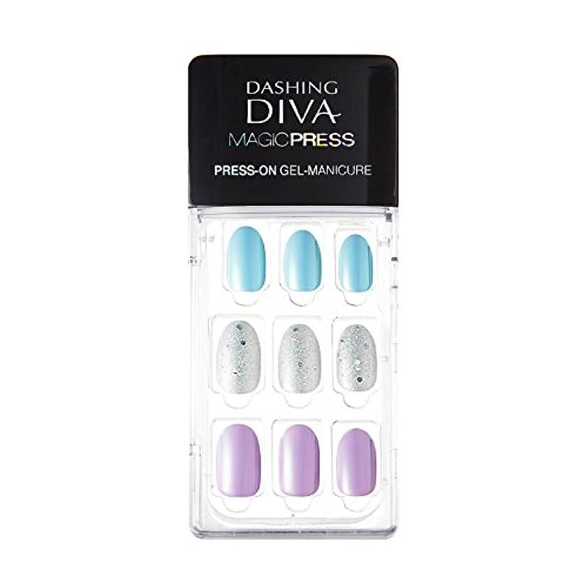 カウンターパート聴く平方ダッシングディバ マジックプレス DASHING DIVA MagicPress MJP_012-DURY+ オリジナルジェル ネイルチップ