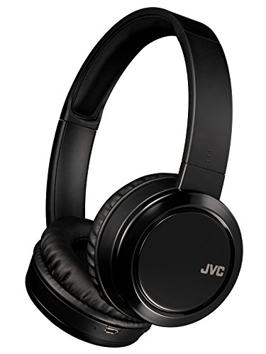 JVC HA-S58BT ワイヤレスヘッドホン Bluetooth対応/連続17時間再生/高磁力ネオジウムマグネット採用パワフル再生/ハンズフリー通話用マイク内蔵/折りたたみ式