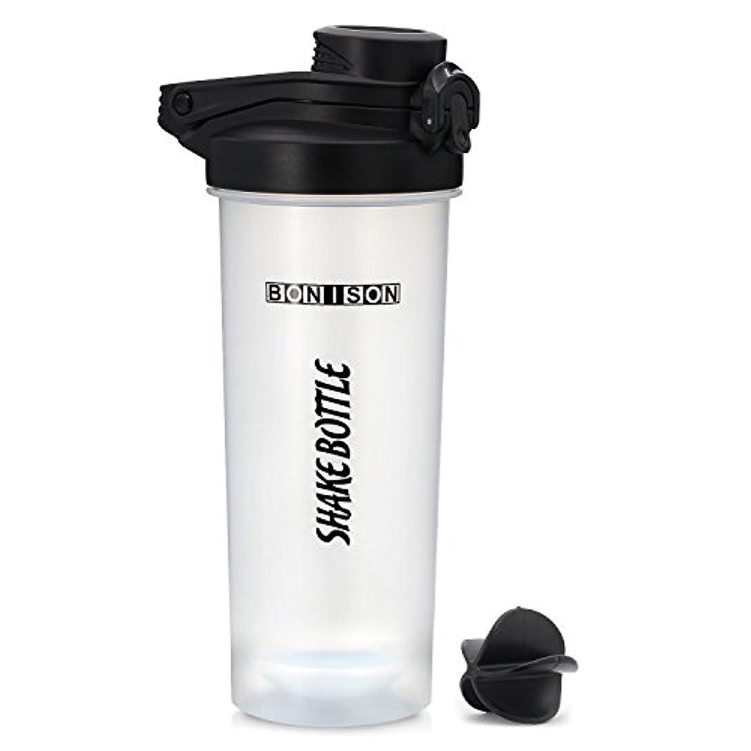 シャンプー大惨事大胆最新24オンスツイストキャップShakeボトルBPAフタル酸とプラスチックMixer ProteinスムージーShakesパウダーMix Shaker Bottle with Hanldle Hoople 24oz black