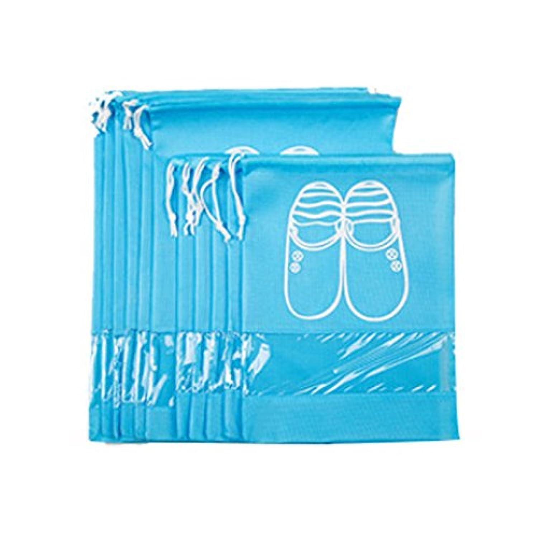 TOPmountain 不織布パッキング 実用的 トラベルバッグ 家庭用大容量 服のソックス 靴 主催ホルダー