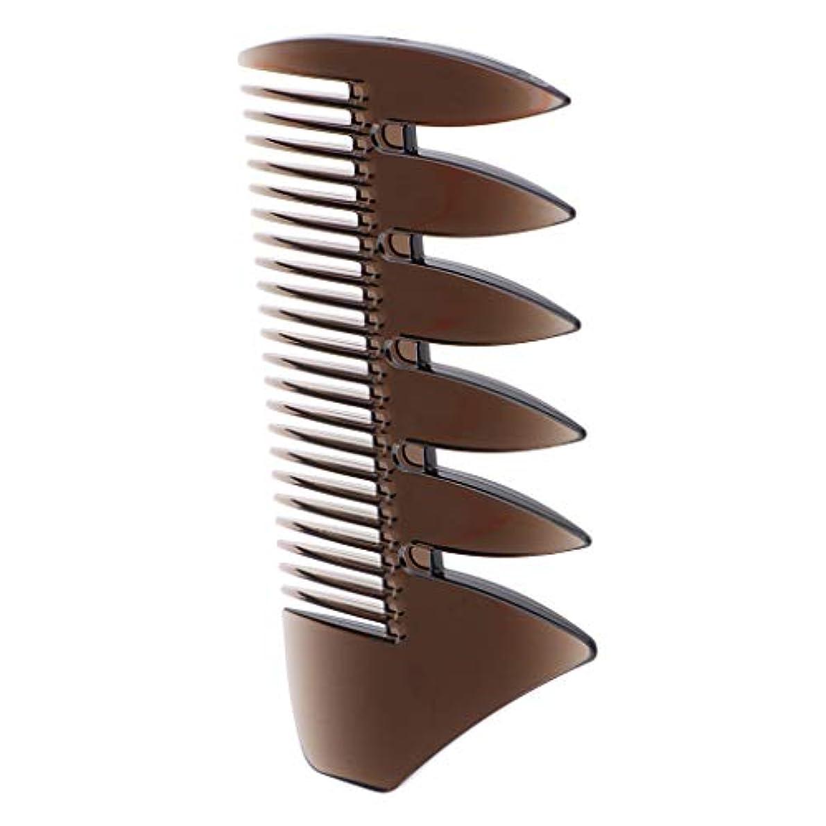 フルーティーサイトラインルーチンヘアブラシ ヘアコーム メンズ オイルヘアピック 櫛 くし