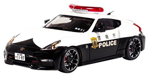 RAI'S 1/43 日産 フェアレディ Z NISMO (Z34) 2016 警視庁高速道路交通警察隊車両 完成品