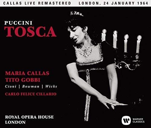 プッチーニ:歌劇「トスカ」全曲(1964年1月24日、ロンドン・ライヴ)(SACDシングルレイヤー)