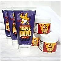 Super Duper Diaper Doo Flip-Lid/Jar, 6 pk.
