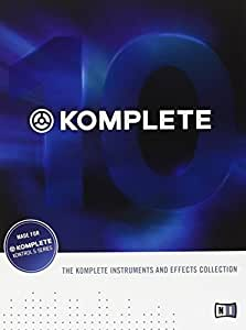 Native Instruments インストゥルメント/エフェクト・コレクション KOMPLETE 10
