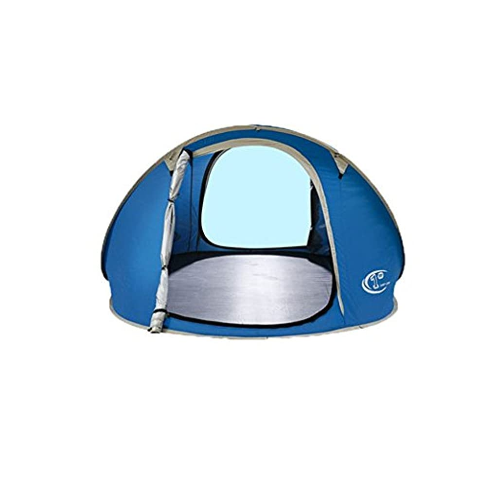 トラフ詳細な切り離すFeelyer 3-4人屋外ビーチキャンプピクニックテント簡単にインストールポータブル防水と雨の紫外線シェードテント大スペース 顧客に愛されて