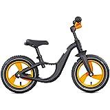 YJFENG ポータブルペダルなし自転車バランスバイクマグネシウム合金折りたたみ式ハンドルバー耐震性安全性 (Color : Multi-colored, Size : 85x61cm)