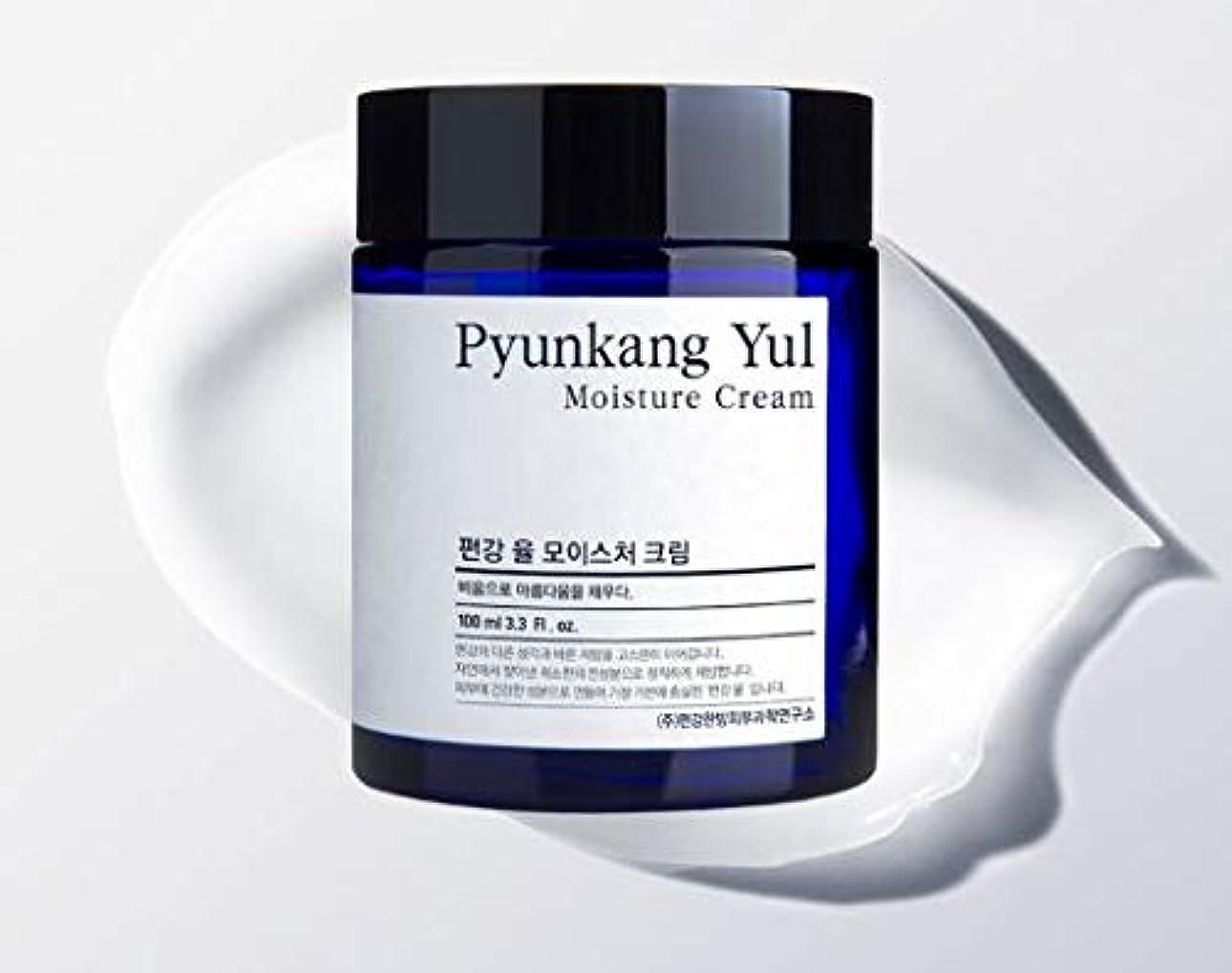 有彩色の見落とすグロー[Pyunkang Yul] Moisture Cream 100ml /モイスチャークリーム 100ml [並行輸入品]
