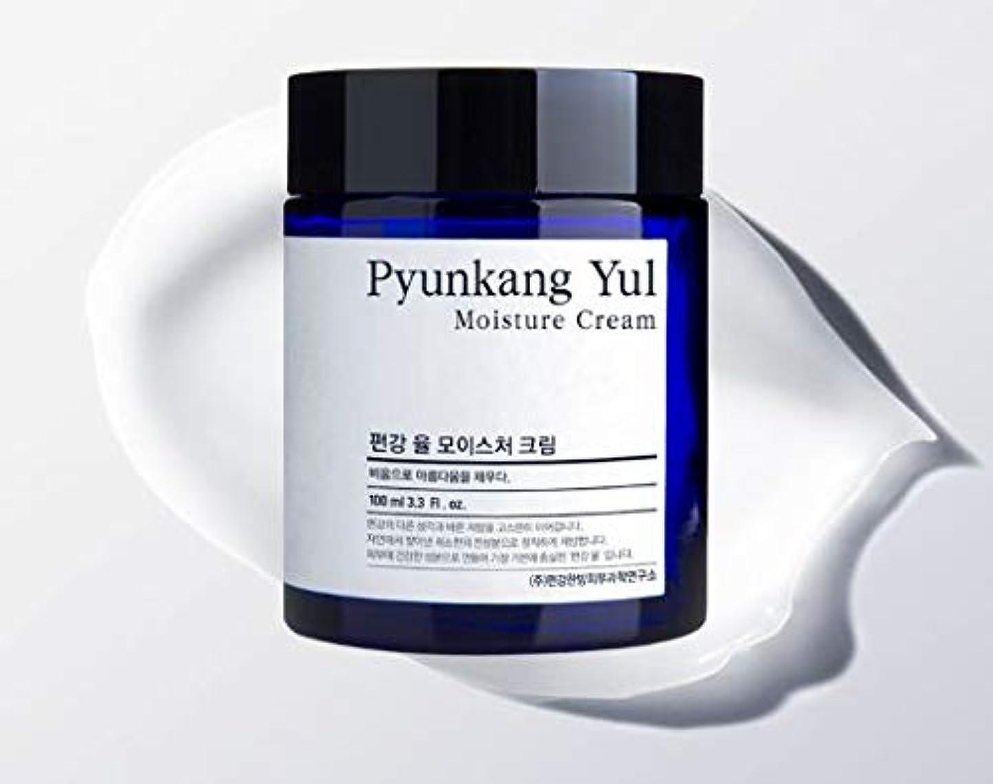 戦争スズメバチあさり[Pyunkang Yul] Moisture Cream 100ml /モイスチャークリーム 100ml [並行輸入品]
