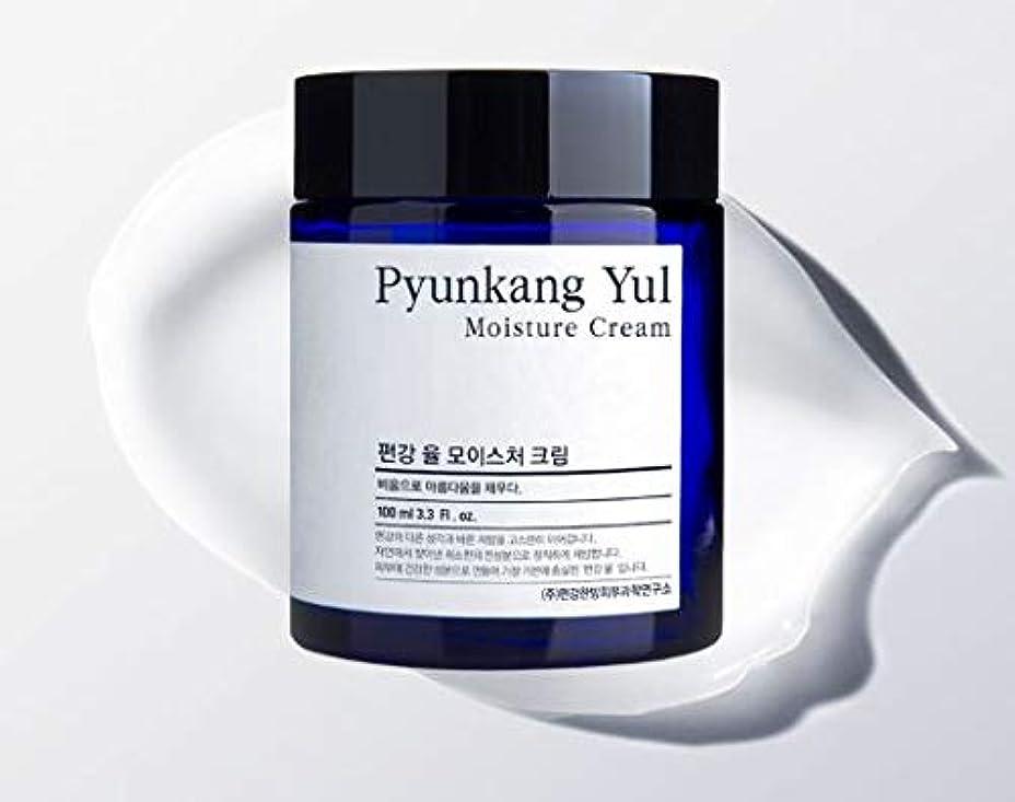 怖がらせる繁栄するぬいぐるみ[Pyunkang Yul] Moisture Cream 100ml /モイスチャークリーム 100ml [並行輸入品]