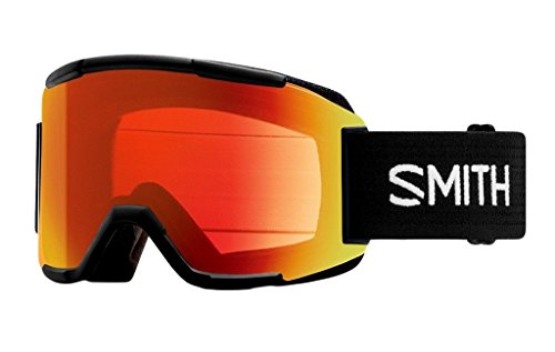 SMITH スミス スノーボード ゴーグル スカッド 17-18モデル SQUAD Black F