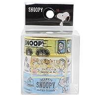 スヌーピー マスキングテープ 3本セット 06896(スヌーピー/あおぞら)