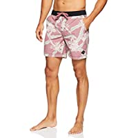 The Critical Slide Society Men's Dora Board Short, Pomegranate