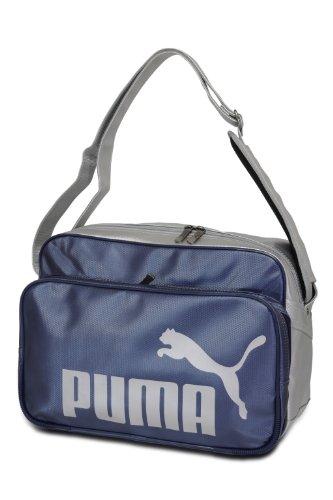 puma プーマ TS マット ASB タイプB ショルダー Lサイズ 869173 (09 ニューネイビー/シルバー)