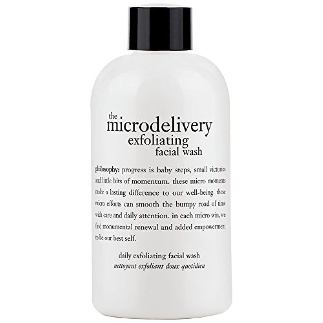 海峡ひもパラナ川腹痛哲学洗浄を剥離ミクロ送達、240ミリリットル (Philosophy) - Philosophy The Microdelivery Exfoliating Wash, 240ml [並行輸入品]