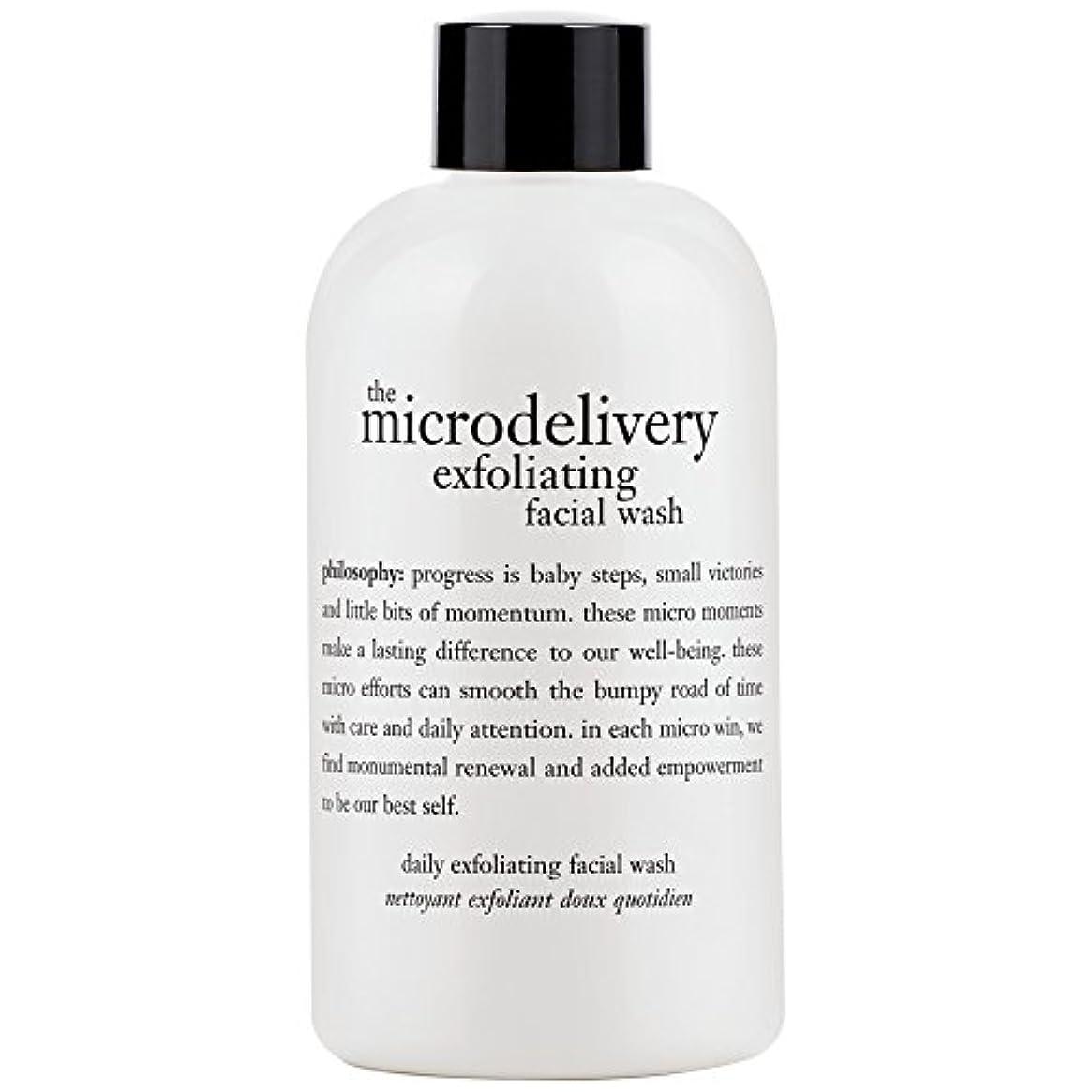 哲学洗浄を剥離ミクロ送達、240ミリリットル (Philosophy) (x6) - Philosophy The Microdelivery Exfoliating Wash, 240ml (Pack of 6) [並行輸入品]
