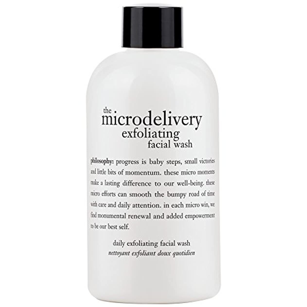ビル魔法今後哲学洗浄を剥離ミクロ送達、240ミリリットル (Philosophy) - Philosophy The Microdelivery Exfoliating Wash, 240ml [並行輸入品]