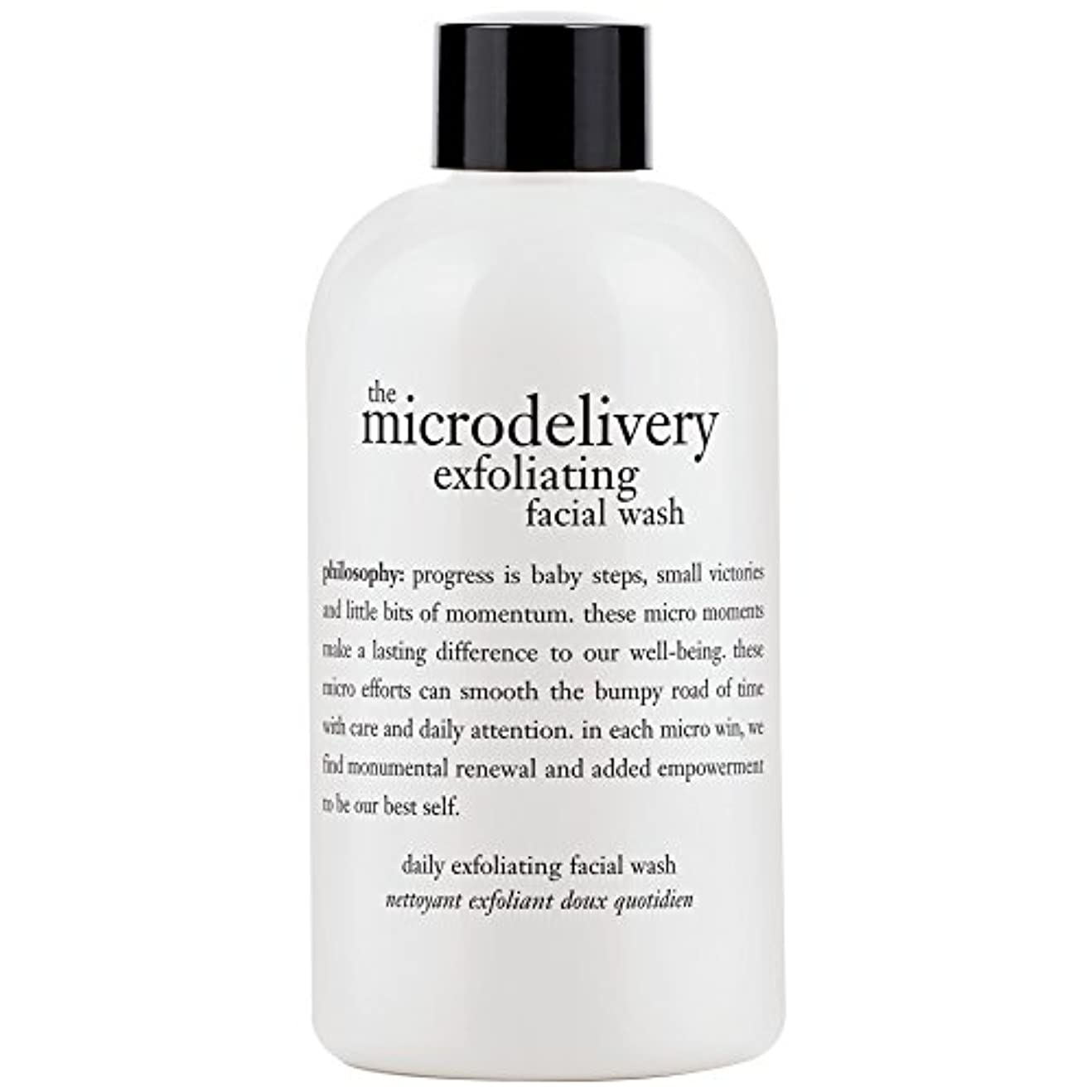 楕円形脱臼するパキスタン人哲学洗浄を剥離ミクロ送達、240ミリリットル (Philosophy) (x2) - Philosophy The Microdelivery Exfoliating Wash, 240ml (Pack of 2) [並行輸入品]