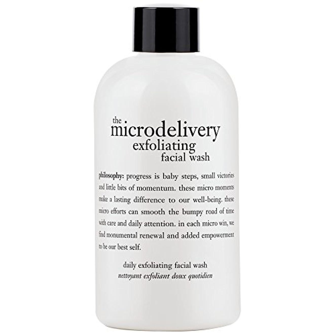 チョーク許すループ哲学洗浄を剥離ミクロ送達、240ミリリットル (Philosophy) (x6) - Philosophy The Microdelivery Exfoliating Wash, 240ml (Pack of 6) [並行輸入品]