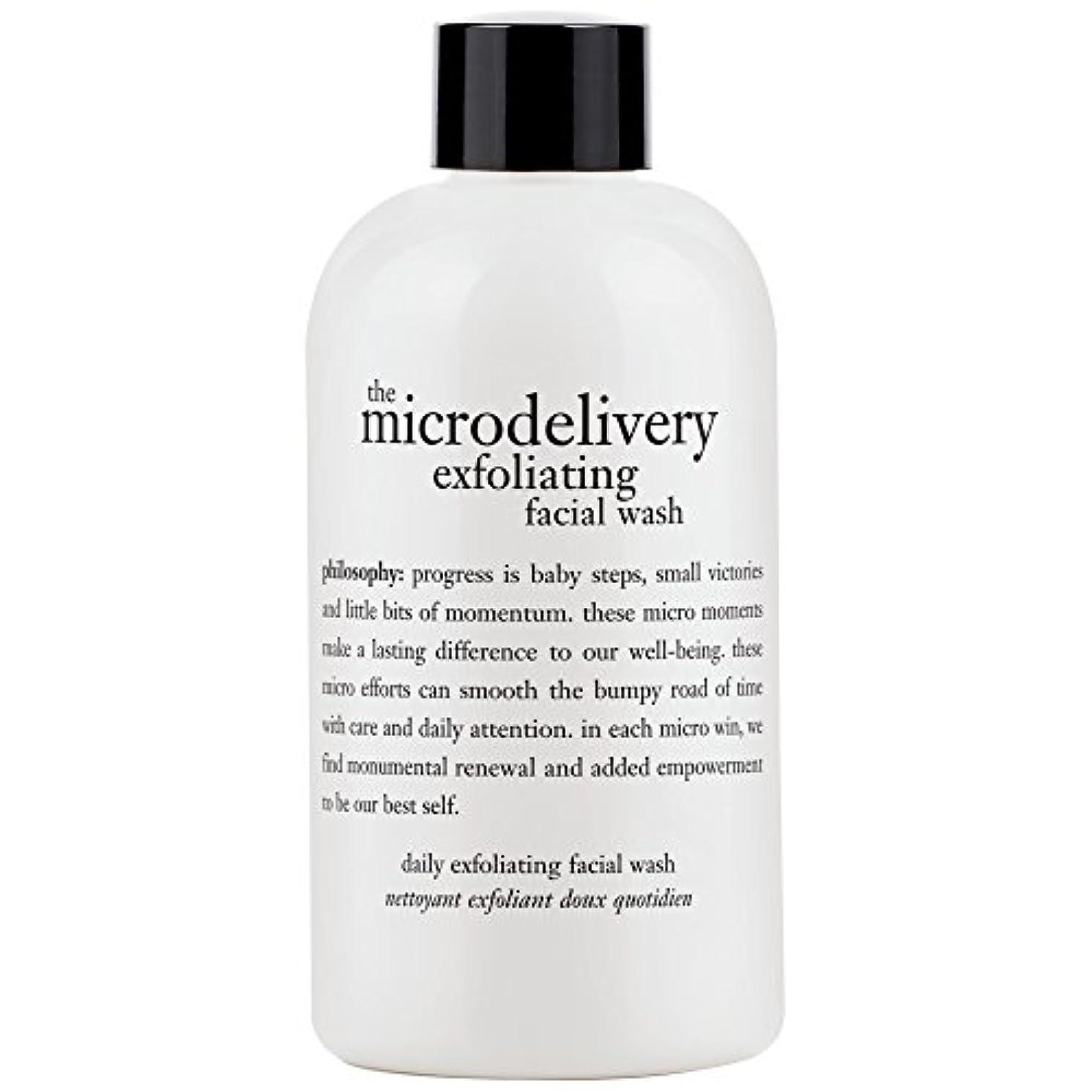 犯すスリムシビック哲学洗浄を剥離ミクロ送達、240ミリリットル (Philosophy) (x6) - Philosophy The Microdelivery Exfoliating Wash, 240ml (Pack of 6) [並行輸入品]